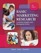Basic Marketing Research: Churchill, Gilbert A., Brown ...