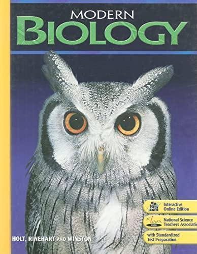 Biology Holt McDougal Stephen Nowicki Education High School science lot 2 EUC