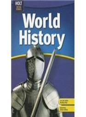Holt World History...