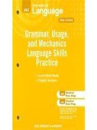 Isbn 9780030994142 holt elements of language grammar usage and isbn 9780030994142 fandeluxe Gallery