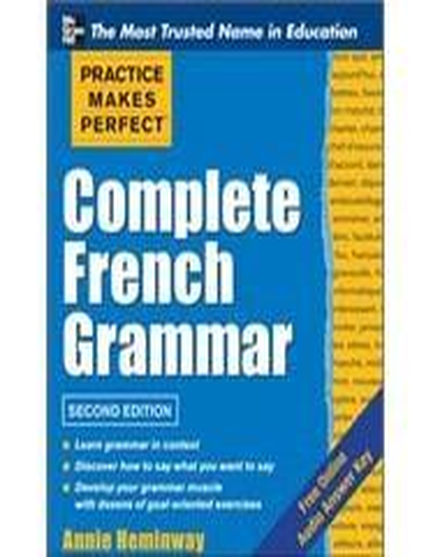 complete french grammar annie heminway pdf