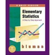 Books by author allan bluman direct textbook elementary statistics a brief version fandeluxe Image collections