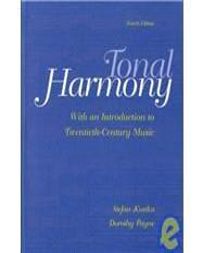 ISBN 9780072415704 - Tonal Harmony 4th Edition Direct Textbook