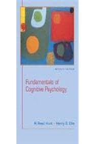cognitive psychology 7th edition pdf