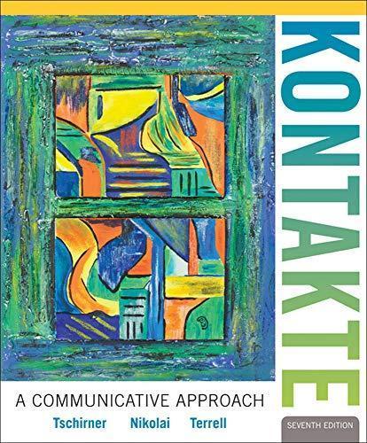 kontakte a communicative approach 7th edition pdf free