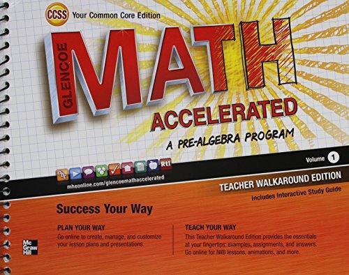 0076644472  Th Grade Pre Alge Math Book Online on