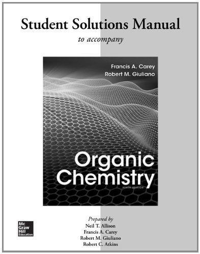 Organic Chemistry By Carey 9th Edition
