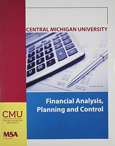 financial planning and control pdf
