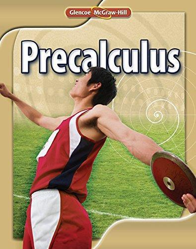 Glencoe Precalculus Student Glencoe McGraw Hill By Staff
