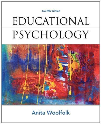 educational psychology teachers anita woolfolk