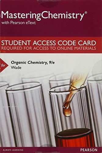 Organic chemistry textbooks shop for new used college organic masteringchemistry with pearson etext standalone access card for organic chemistry 9th fandeluxe Image collections