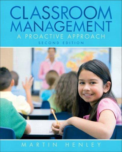 Elementary Classroom Management : Isbn  classroom management a proactive