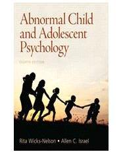 Abnormal Child And Adolescent