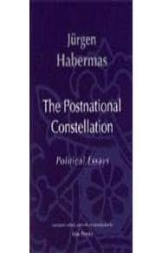 constellation essay political postnational The postnational constellation: political essays: jürgen habermas: 9780262582063: books - amazonca.
