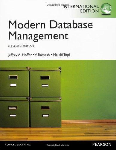 modern database management 11th pdf
