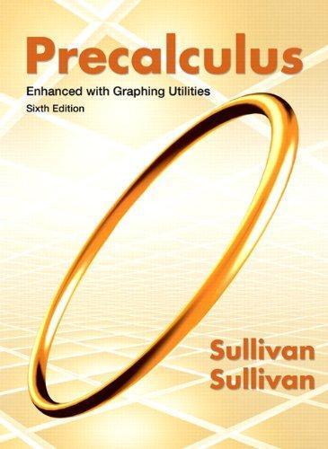 Pre-Calculus Text Book 3rd Edition Blitzer 2007 ISBN 0131874799