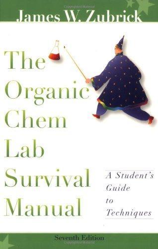 the organic chem lab survival manual 10th edition