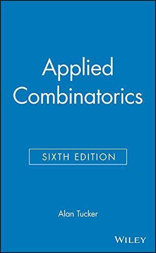 applied combinatorics alan tucker 6th edition solutions pdf