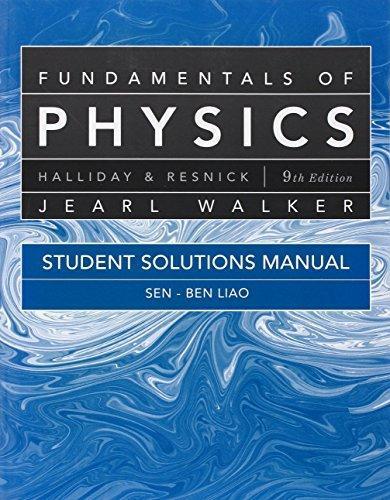 Principles Of Physics Ninth Edition International Student