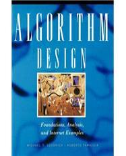 algorithm design michael t goodrich solution manual