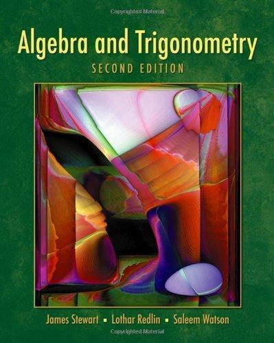 Algebra 2 Trigonometry Textbook