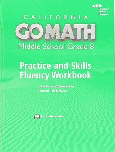 ISBN 9780544470705 Go Math California Practice Fluency