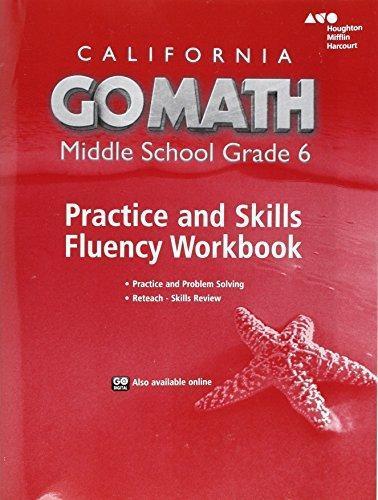 ISBN 9780544470903 Go Math California Practice Fluency