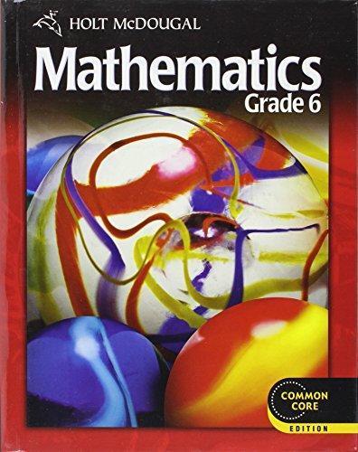 Isbn 9780547647166 holt mcdougal mathematics common core grade 6 isbn 9780547647166 fandeluxe Gallery