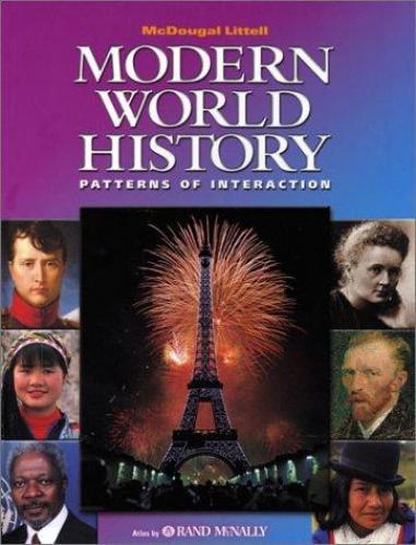 Isbn 9780618131778 modern world history patterns of interaction isbn 9780618131778 fandeluxe Gallery