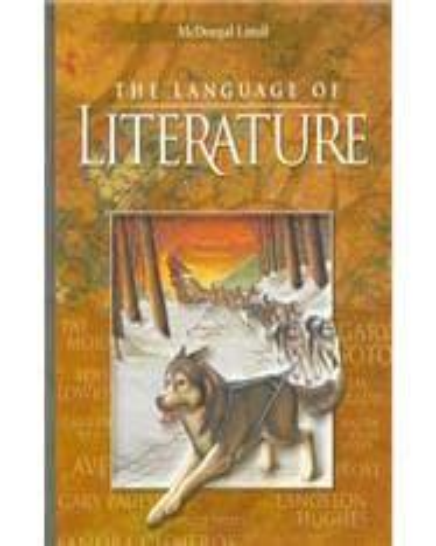 ISBN 9780618601349The Language of Literature grade 6