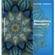 Elementary geometry college by alexander 6th edition direct textbook elementary geometry for college students 4th fandeluxe Choice Image