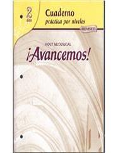 McDougal Littell Avancemos By Ml Direct Textbook
