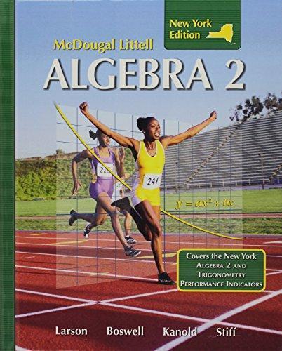 McDougal Littell by Algebra - Direct Textbook