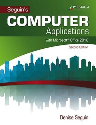 microsoft office 2016 textbook pdf