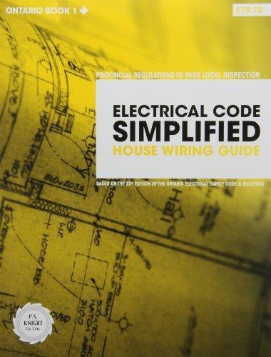 buy electrical code simplified house wiring guide ontario