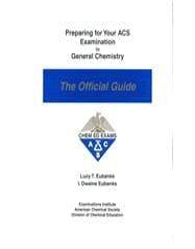 ACS Practice Exam for ACS Chemistry Final   Practice Exams