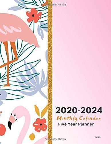 bfXD*DOWNLOAD 2020-2024 Monthly Calendar Five Year Planner