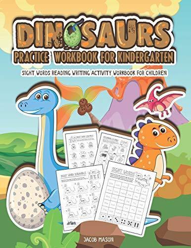 TYhc DOWNLOAD Dinosaurs Practice Workbook For Kindergarten