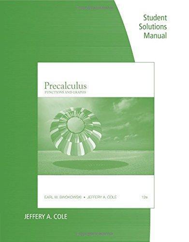 Isbn 9781111573508 precalculus functions and graphs student isbn 9781111573508 fandeluxe Gallery