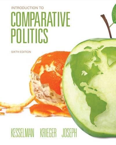 Introduction to comparative politics kesselman 6th edition