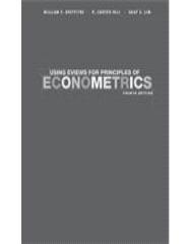 using eviews for principles of econometrics fourth edition pdf