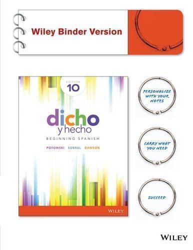 conversaciones escritas 2nd edition used
