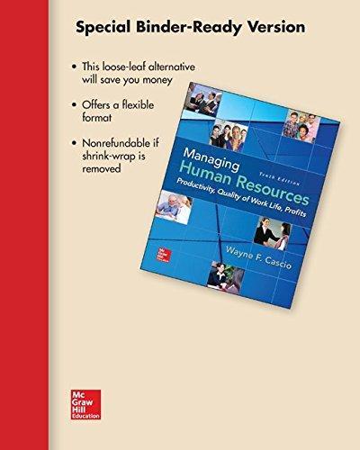 managing human resources 10th edition cascio pdf
