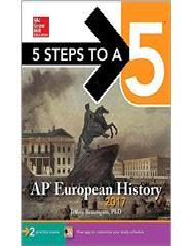 Isbn 9781259586767 5 Steps To A 5 Ap European History 2017 6th