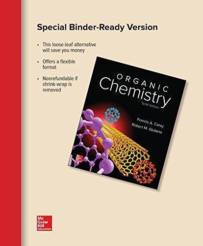 carey organic chemistry 10th edition pdf