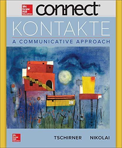Kontakte a communicative approach