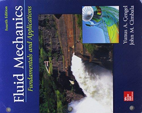 fluid mechanics fundamentals and applications 4th edition solution manual