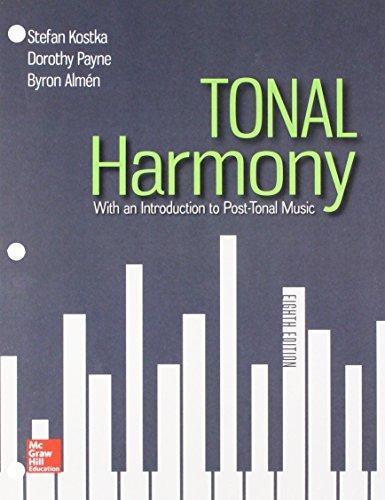 Isbn 9781260189025 gen combo looseleaf tonal harmony connect ac isbn 9781260189025 fandeluxe Images