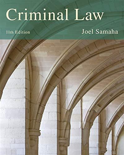 Criminal Law - Isbn:9781285459035 - image 5