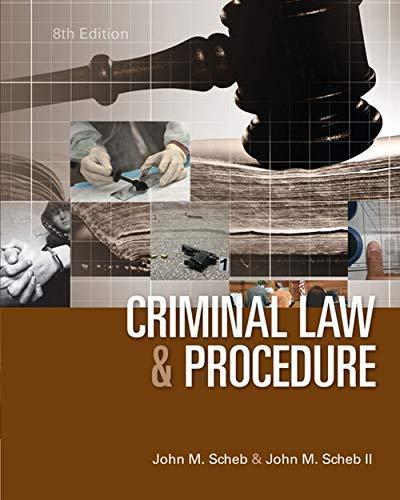 Criminal Law - Isbn:9781285459035 - image 4